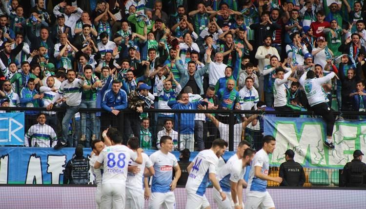 Çaykur Rizespor'dan İstanbulspor'a teşekkür