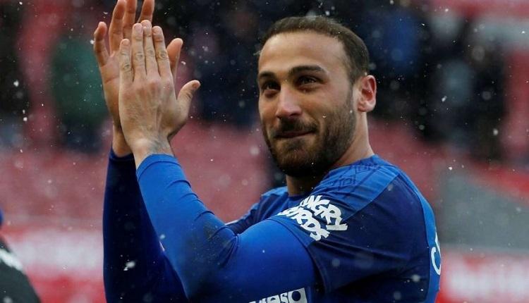 Cenk Tosun'un Huddersfield - Everton maçında attığı golü (İZLE)