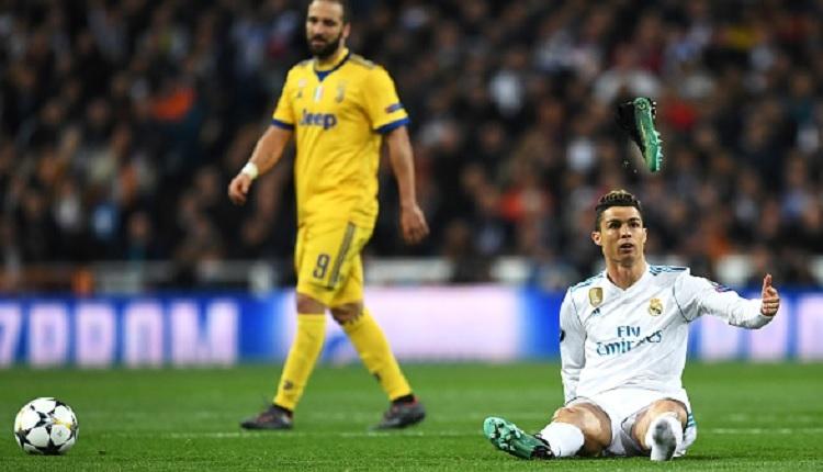 Cristiano Ronaldo'nun penaltı tepkisi (Real Madrid - Juventus maç özeti ve golleri)