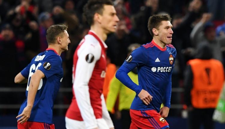 CSKA Moskova 2-2 Arsenal maç özeti ve golleri İZLE