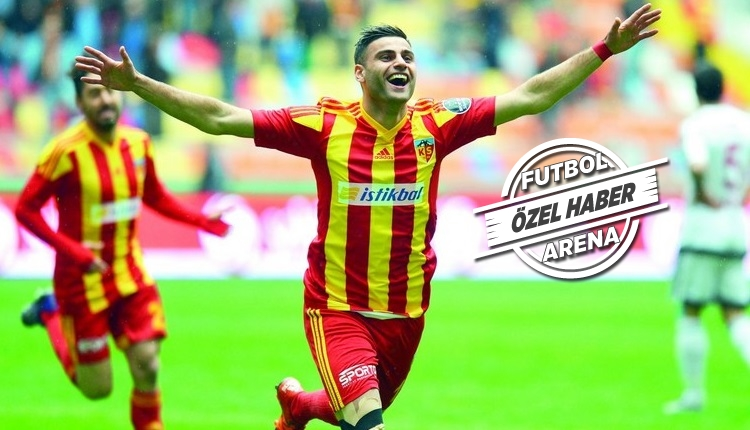 Kayserispor Transfer: Deniz Türüç'ten FutbolArena'ya itiraf (Galatasaray, Fenerbahçe, Beşiktaş)