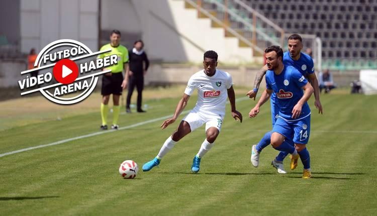 Denizlispor 0-0 Çaykur Rizespor maçı özeti (İZLE)