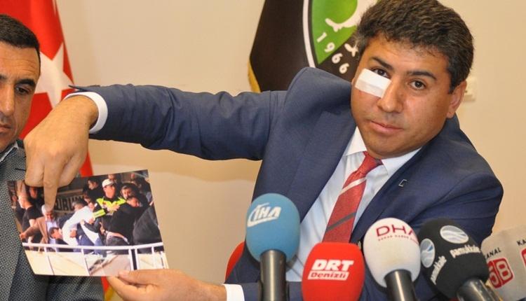 Denizlispor'da darp edilen yönetici, Ankaragücü başkanını şikayet etti