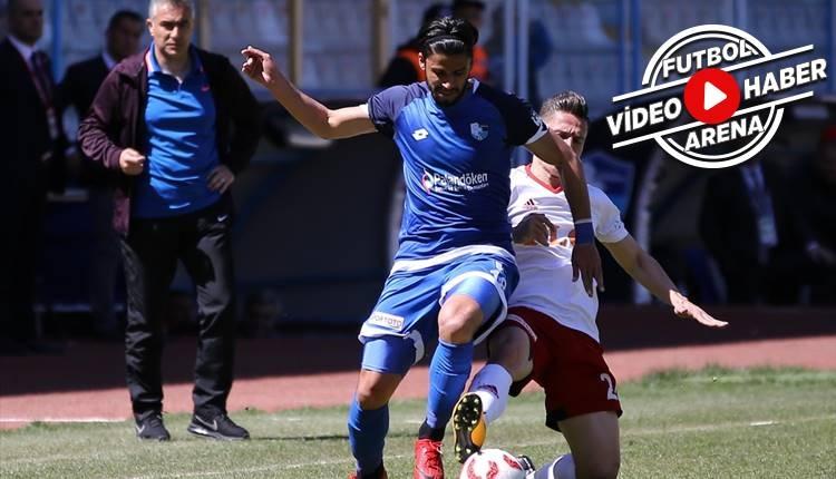 Erzurumspor 2-1 Gazişehir Gaziantep maçı özeti ve golleri (İZLE)