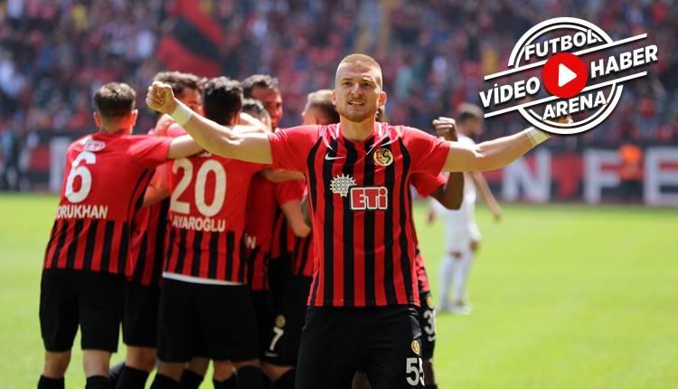 Eskişehirspor 5-0 Samsunspor maçı özeti ve golleri (İZLE)