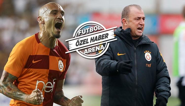 Fatih Terim'e Maicon'dan Beşiktaş derbisi öncesi iyi haber