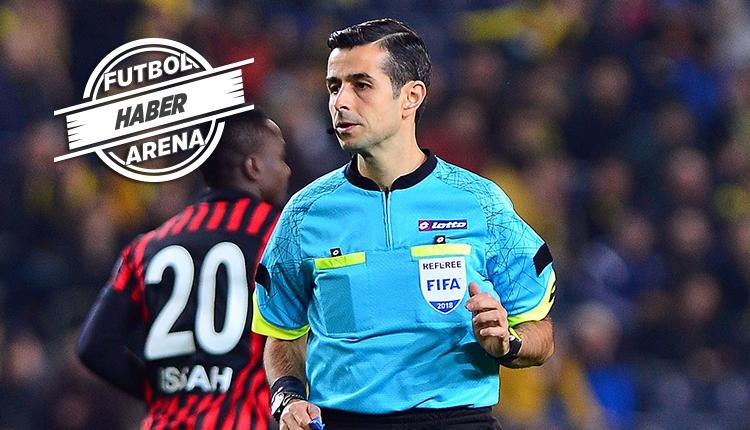 Fenerbahçe - Beşiktaş derbisinin hakemi Mete Kalkavan