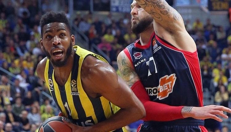 Fenerbahçe deplasmanda Baskonia'ya mağlup oldu