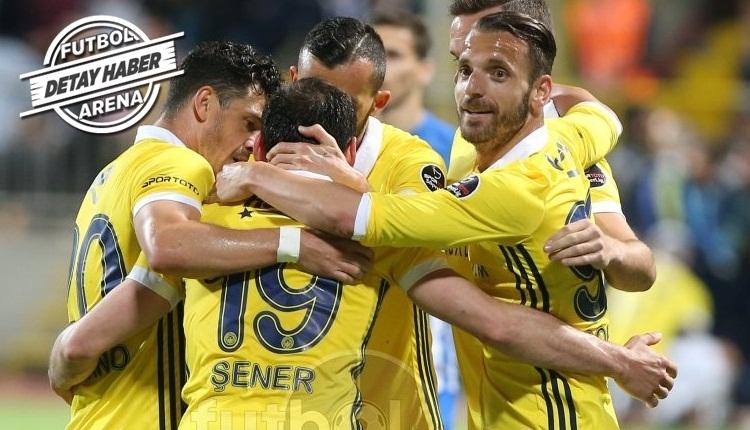 Fenerbahçe en iyi galibiyet serisini tekrarladı
