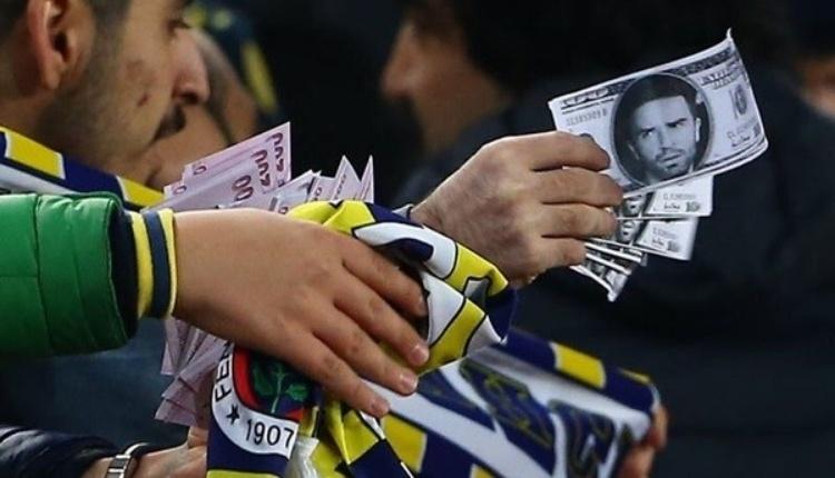 Fenerbahçe taraftarından Gökhan Gönül'e sahte para