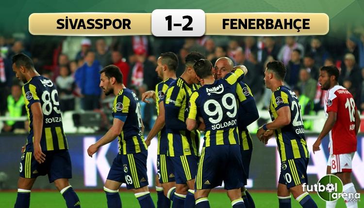 Fenerbahçe'den deplasmanda kritik galibiyet (İZLE)