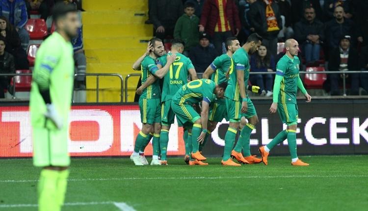 Fenerbahçe'den Kayserispor'a ağır darbe! Tarihte ilk kez