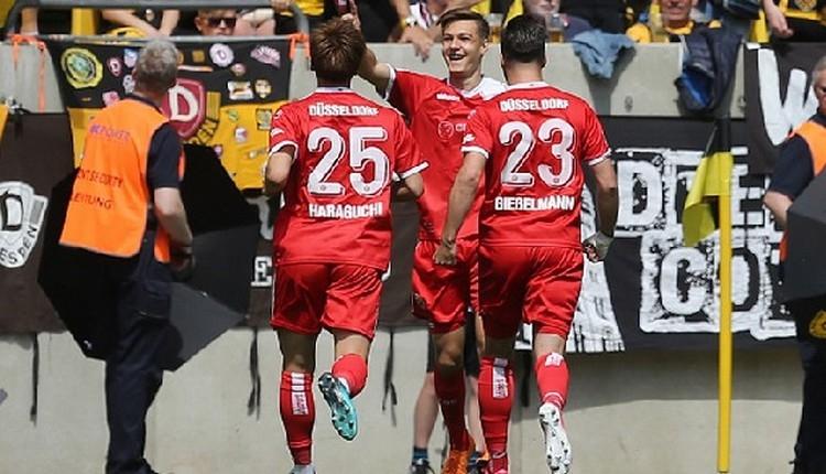 Fortuna Düsseldorf, Bundaliga'ya yükseldi
