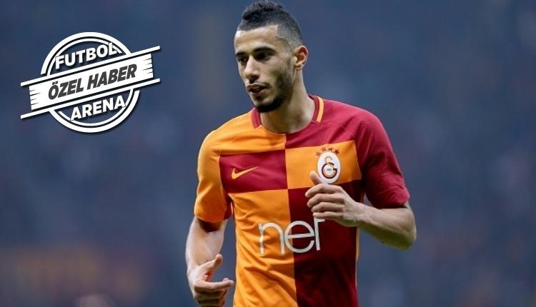 Galatasaray antrenmanında Younes Belhanda sürprizi