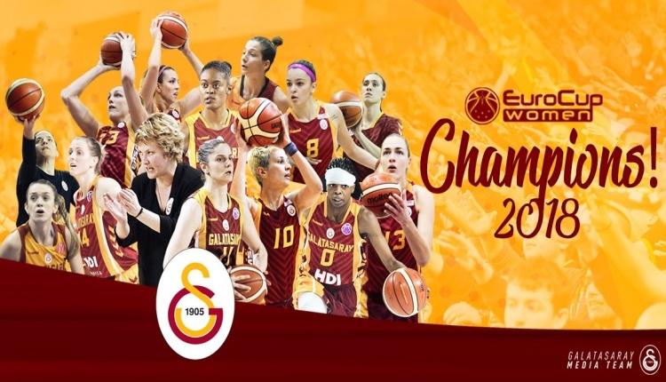 Galatasaray, Eurocup şampiyonu oldu