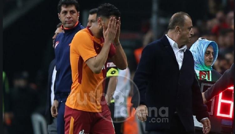 Galatasaray taraftarlarından Tolga Ciğerci'ye protesto (GS - Akhisar maçı)