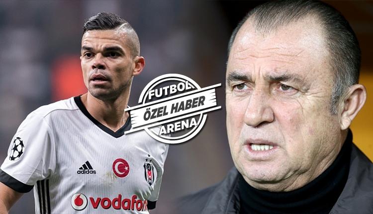 Galatasaray'da Fatih Terim'den teknik ekibe Pepe uyarısı
