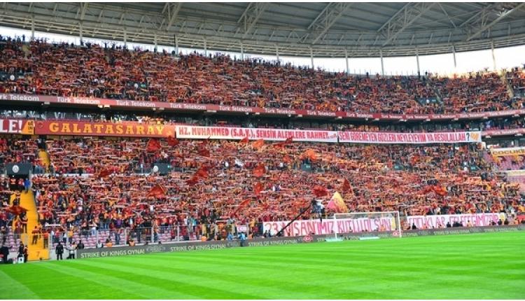 Galatasaray-Medipol Başakşehir maçına 47 bin taraftar