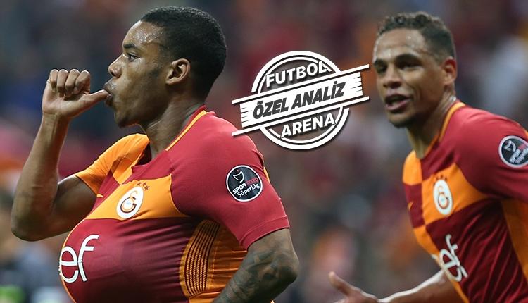 Garry Rodrigues, Galatasaray - Beşiktaş derbisine damga vurdu