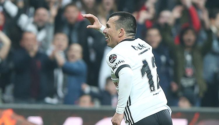 Gary Medel'in Beşiktaş Göztepe maçındaki golü