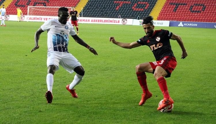 Gazişehir Gaziantep 1-0 Adana Demirspor maç özeti ve golü (İZLE)