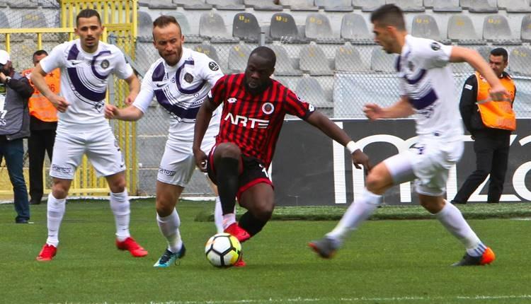 Gençlerbirliği 0-3 Osmanlıspor maçı özeti ve golleri (İZLE)