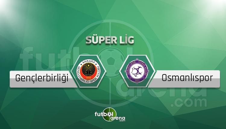 Gençlerbirliği Osmanlıspor BeIN Sports canlı şifresiz izle
