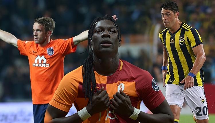 Giuliano, Gomis ve Visca, Süper Lig'de zoru başardı