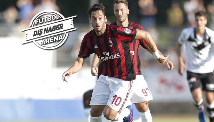 Hakan Çalhanoğlu'dan Bologna'ya 1 gol, 1 asist (İZLE)