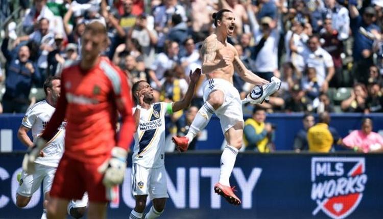 Ibrahimovic'in LA Galaxy'de attığı 2 gol! Ibrahimovic hangi takıma gitti? İbrahimovic'in Amerika'da attığı goller (İZLE)