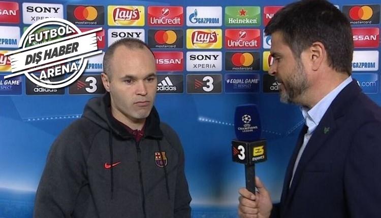 Iniesta'dan Şampiyonlar Ligi itirafı! 'Belki de son kez'