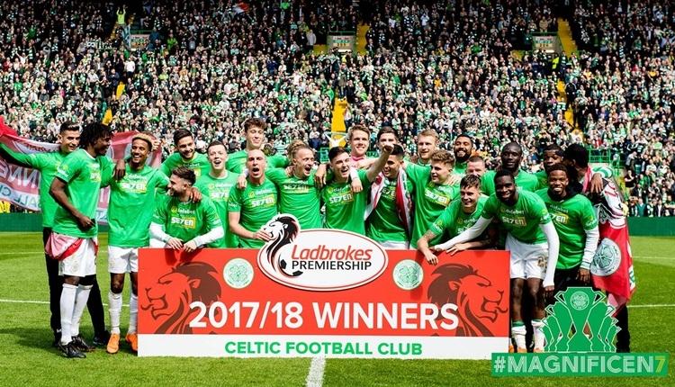 İskoçya'da şampiyon yine Celtic oldu