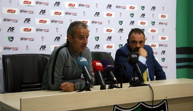 İsmail Kartal'dan Denizlispor maçı hakemine sert tepki! 'Yönetimimiz çalışma yapıyor'