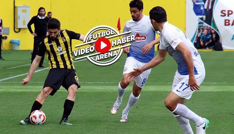 İstanbulspor 2-3 Çaykur Rizespor maçı özeti ve golleri (İZLE)