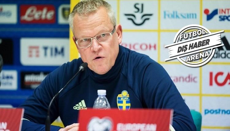 İsveç'in hocası Ibrahimovic'e kapıları kapattı