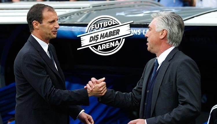Juventus'ta Allegri'nin yerine Carlo Ancelotti