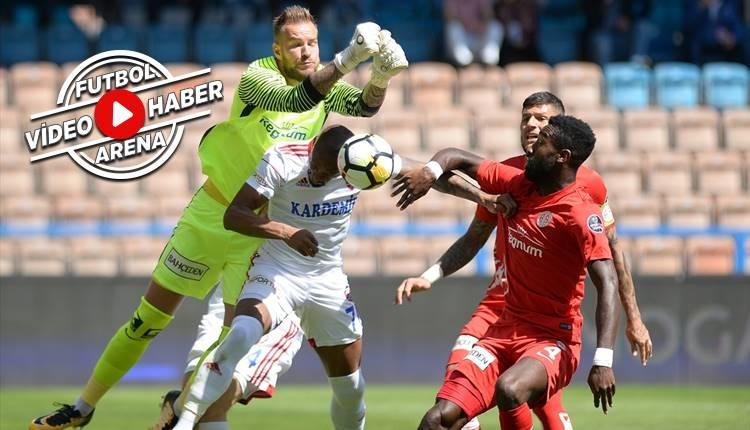 Karabükspor 1-2 Antalyaspor maçı özeti ve golleri (İZLE)
