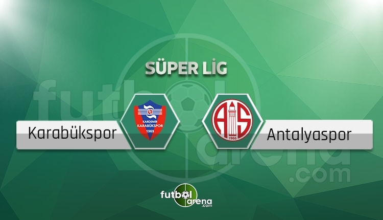 Karabükspor - Antalyaspor beIN Sports canlı ve şifresiz izle