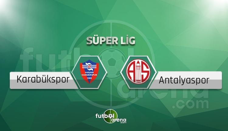 Karabükspor - Antalyasporne zaman? beIN Sports canlı yayın akışı (Karabük Antalyaspor hangi gün?)