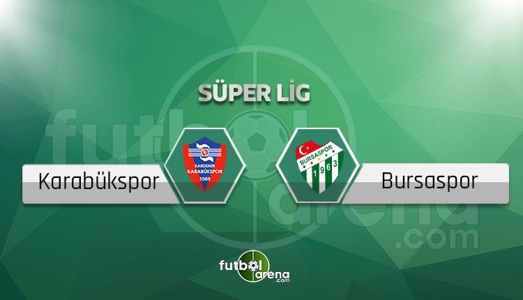 Karabükspor Bursaspor BeIN Sports canlı şifresiz izle