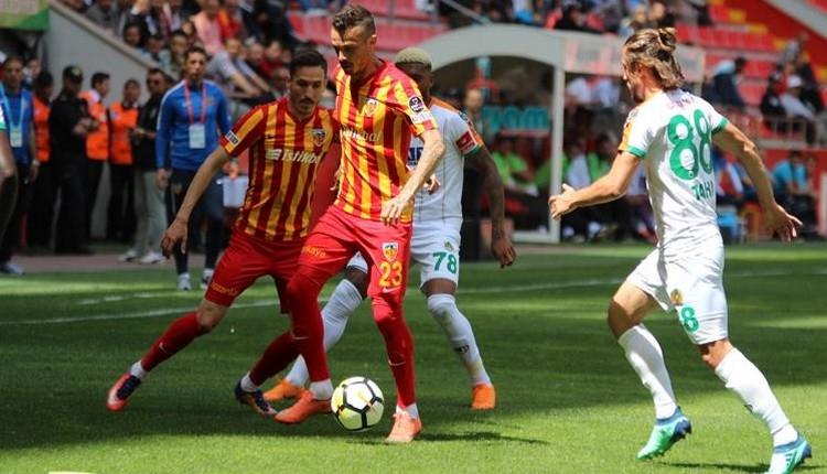 Kayserispor 1-2 Alanyaspor maç özeti ve golleri İZLE