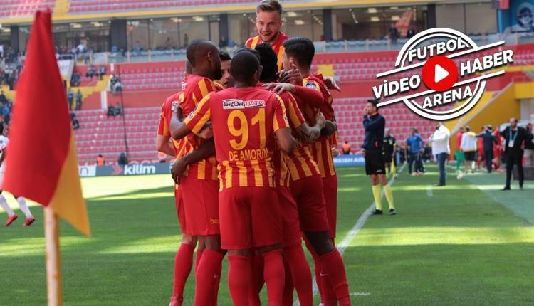Kayserispor 3-2 Gençlerbirliği maçı özeti ve golleri (İZLE)