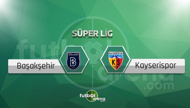 Kayserispor - Başakşehir sakat, cezalı futbolcular