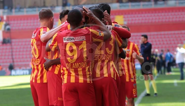 Kayserispor - Gençlerbirliği maçında Boldrin'in golü! Çizgiyi geçti mi? (İZLE)