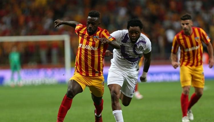Kayserispor'da Varela sezonu kapattı