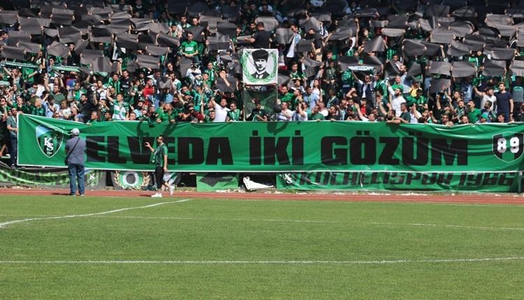 Kocaelispor, İsmetpaşa Stadyumu'na mağlubiyetle veda etti