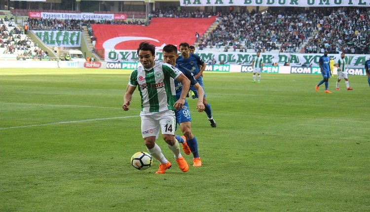 Konyaspor'da Volkan Şen eski takımı Bursaspor'a karşı