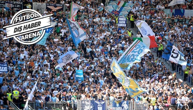 Lazio taraftarından Liverpool'a mesaj
