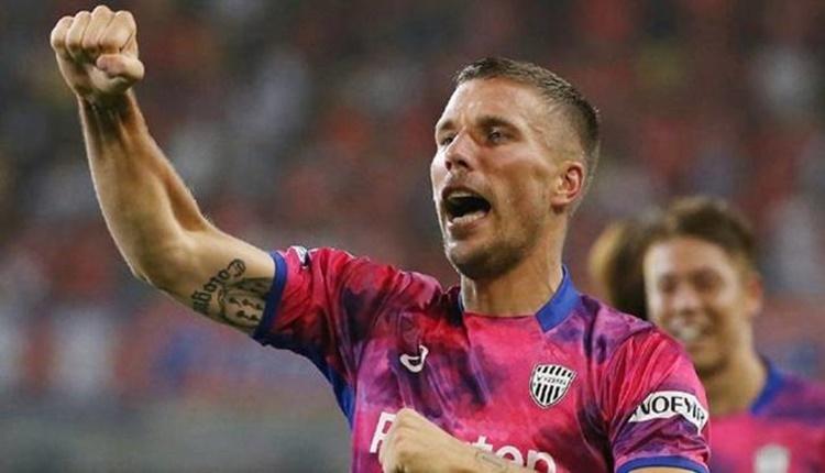Lukas Podolski, Vissel Kobe formasıyla 2 gol birden attı (Podolski'nin Japonya'daki golleri)