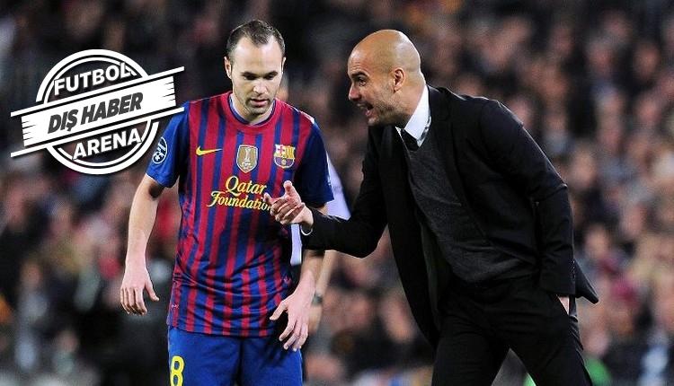 Manchester City, Iniesta'yı transfer edecek mi?